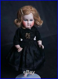 Antique All Bisque German Kestner 11 Bare Feet Girl Doll