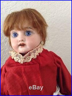 Antique Armand Marseille German Bisque Child Doll 3200 All Original Factory Clot