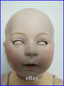 Antique Bisque 15 Baby Doll Swaine & Co DV 6