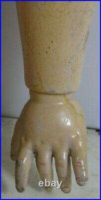 Antique Bisque Doll With Blue Eyes 28 Armand Marseille 390 DRGM 246 A 12 M