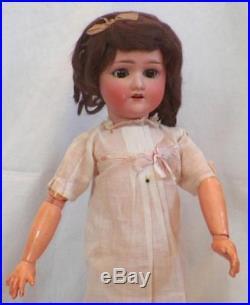 Antique Bisque Head Doll Schoenau & Hoffmeister 1909 21in. W Original Box