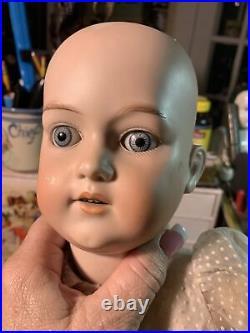 Antique Bisque Head George Borgfeldt GB Doll Germany NUDE 23
