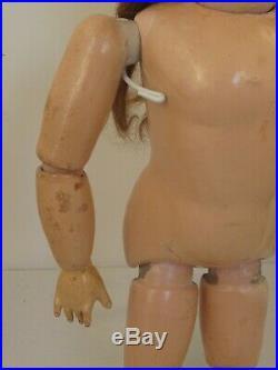 Antique Bisque Kestner 167 Doll 23