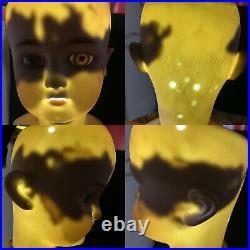 Antique Bisque Simon Halbig CM Bergmann Size 11 1/2 26 Socket Doll Compo Body