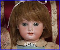 Antique Doll 1894 DEP Exceptional Bisque Beauty