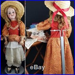 Antique Doll Baby German Bisque Head Jointed Body Heubach 250 Koppelsdorf 25