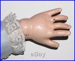 Antique Doll KESTNER Made In Germany 146 M 16 Mohair Wig Excelsior 6 ½ Body 29