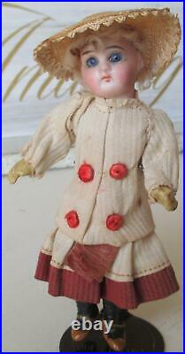 Antique Doll Pair Mignonette Gebruder Kuhnlenz German 5.5 Petite