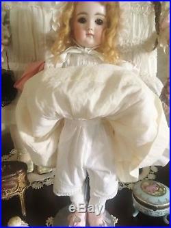 Antique Early Kestner Cabinet Sized Doll