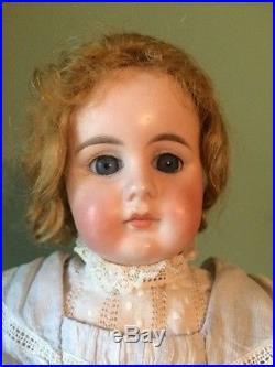 Antique German Bisque Doll by Gebruder Kuhnlenz