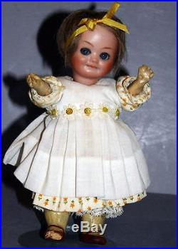 Antique German Bisque Googly Doll