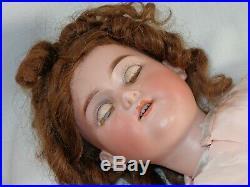 Antique German Bisque Head 24 Doll GB George Borgfeldt