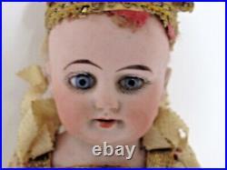 Antique German Bisque Head Heinrich Handwerck Musical Marotte Jester c1910