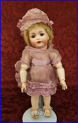 Antique German Bisque Head JDK Kestner 260 Marked Side Hip TODDLER Doll 12 Cute