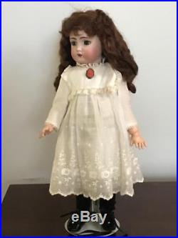 Antique German Bisque Head doll Kammer & Reinhardt Simon & Halbig mold 403 17in
