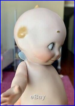 Antique German Bisque Rose ONeill Kewpie Doll 9