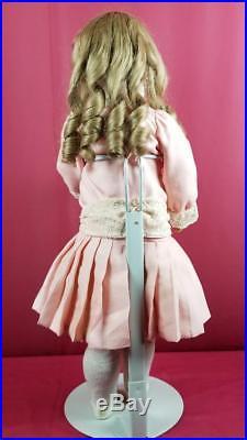 Antique German Bisque Socket Head Doll Max Handwerck Marked Body 24 Beautiful