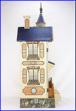 Antique German Blue Roof Gottschalk Doll House ca1910