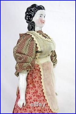 Antique German China Doll 20 ca1880