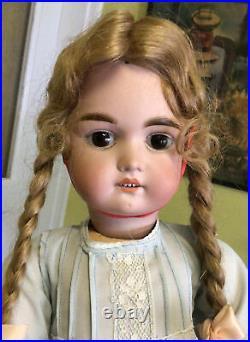 Antique German Doll 24 inches tall Max Handwerck