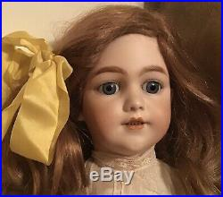 Antique German Doll 27 Inches Tall S & H 1248