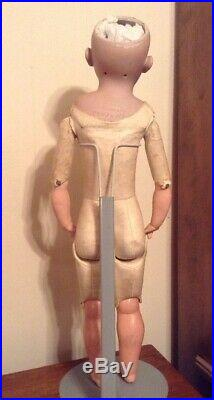 Antique German Doll S & H 1080 25 Inches Tall