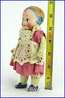 Antique German Googly eye Doll ca1910