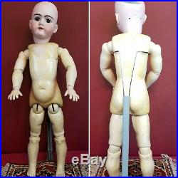 Antique German Heinrich Handwerck LARGE Doll 29 DEP 99 Fully Jointed Beauty
