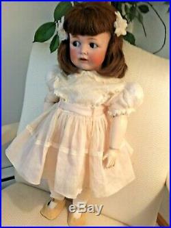Antique German KESTNER Toddler Character Doll. 28 Bisque & Composition. Superb