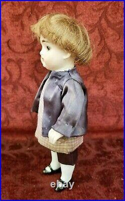 Antique German Kestner 150 All Bisque Strung Doll Large 7 inch Sleep Eyes Nice