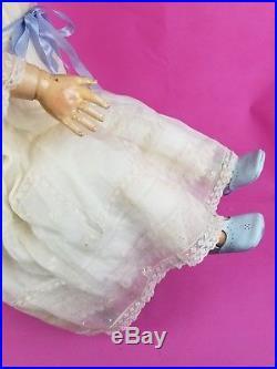 Antique German LG Kestner Doll Bisque Head Marked Org Excelsior Body Lovely 32