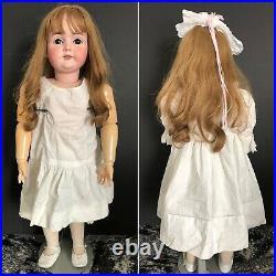 Antique German Lifelike 31 Kestner M 164 Bisque Head Child Doll Comp. Body
