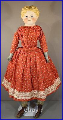 Antique German Parian Doll