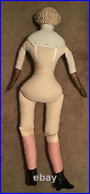 Antique German Parian Doll 36 Inches Long