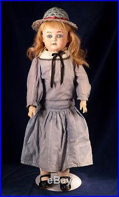 Antique German Schoenau & Hoffmeister 5500 Bisque Head Doll Unique Dolly Face