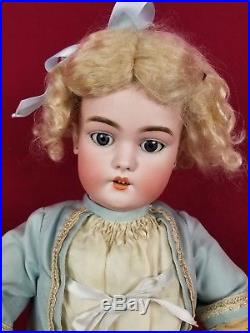 Antique German Simon Halbig 1079 9 DEP Bisque Head Fully Jointed Body 21