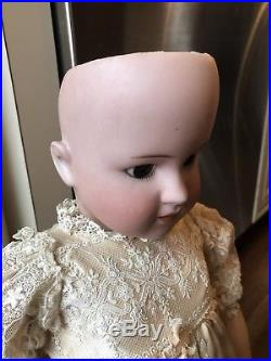 Antique German Simon and Halbig 22 Bisque Head Jointed Composition Doll 550