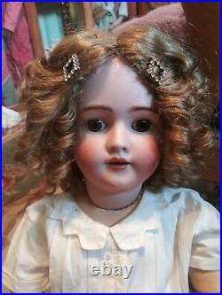 Antique Heinrich Handwerck 30 doll &clothes