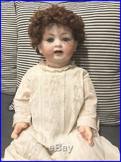 Antique Hertel Schwab German Bisque Baby Doll Composition Body