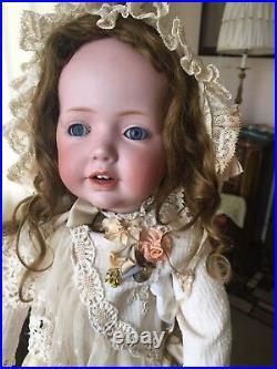 Antique JDK Kestner HILDA 20 237 Bisque Head Doll With Toddler Body