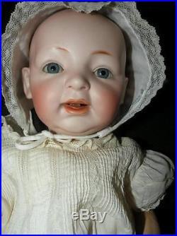 Antique Kestner Bisque Baby Doll German 18 Long