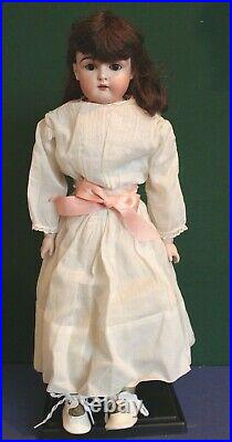 Antique Kestner Doll, 9/147, Bisque with Kidd Body, 22