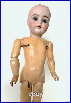 Antique Kestner German Bisque Head Antique Doll AS-IS