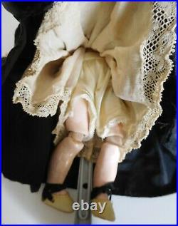 Antique Rare Size 11 Simon & Halbig 1079 Cabinet Size Bisque Socket Head