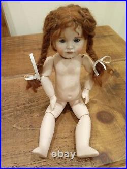 Antique Rep K & R Kammer & Reinhardt Simon Halbig German Bisque Porcelain Doll