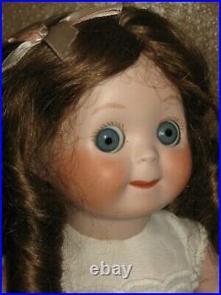 Antique Reproduction GOOGLY EYED German Kestner JDK 221 Full Body Bisque Doll