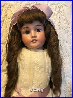 Antique SH Max Handwerck Doll 29 Wonderfully Dressed