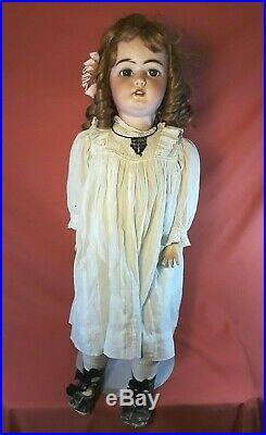 Antique Simon & Halbig 1079 33 Size 15 Bisque Head Doll