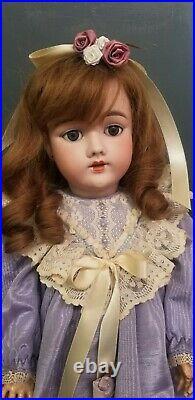 Antique Simon & Halbig 109 For Heinrich Handwerck Bisque Composition 24 Doll