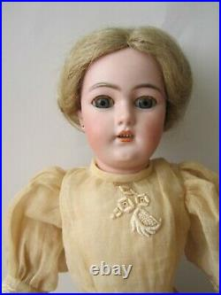 Antique Simon & Halbig 1159 Lady Doll, Trunk, Clothing and Accessories